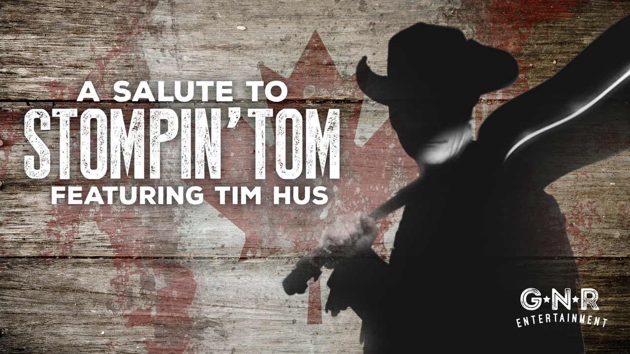 Book A Salute to Stompin' Tom-featuring Tim Hus